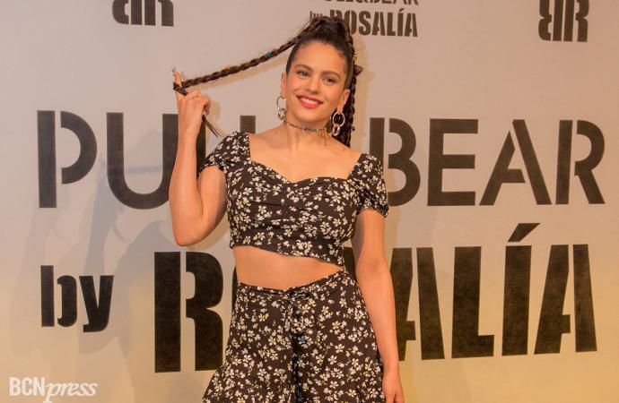 Fiesta de presentación de la segunda colaboración de Rosalía con Pull&Bear