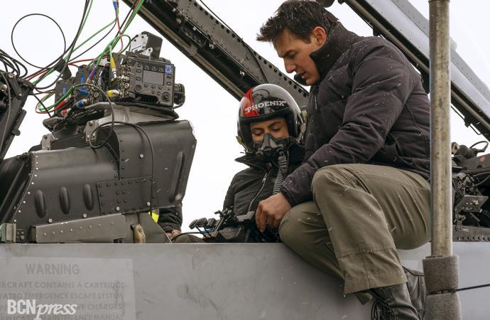 ' Top Gun: Maverick' estreno en el mes de julio