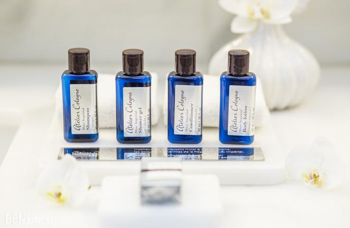 Majestic Hotel & Spa Barcelona estrena nuevos toiletries de Atelier Cologne