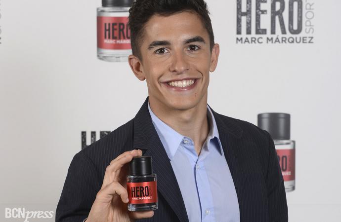 Hero Sport la fragancia de Marc Márquez