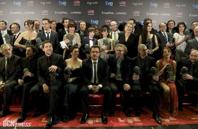 """""""Pa Negre"""", arrasa en los Premios Goya 2011"""