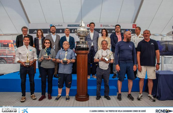 Los favoritos vuelven a reinar en el Trofeo de Vela CaixaBank Conde de Godó