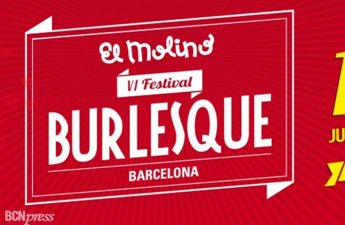 VI edición del Barcelona Burlesque Festival en El Molino