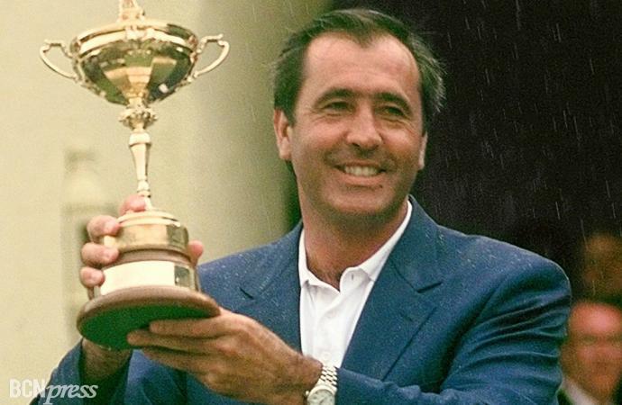 Fallece severiano Ballesteros, el mejor golfista de la historia