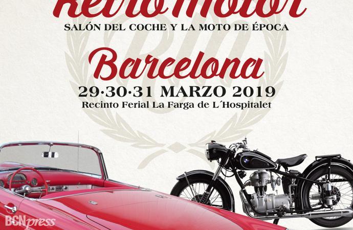 Retromotor Barcelona realizará varios homenajes
