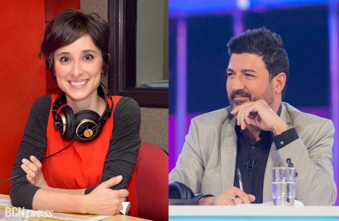 Tony Aguilar y Julia Varela comentaristas de Eurovisión 2018