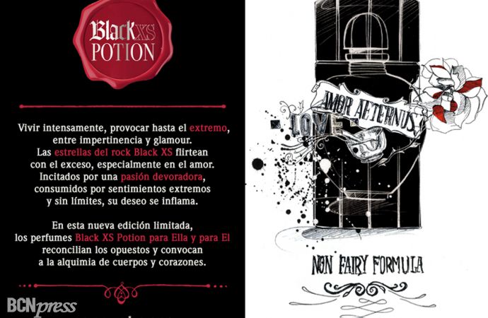 Nuevas Black XS Potion