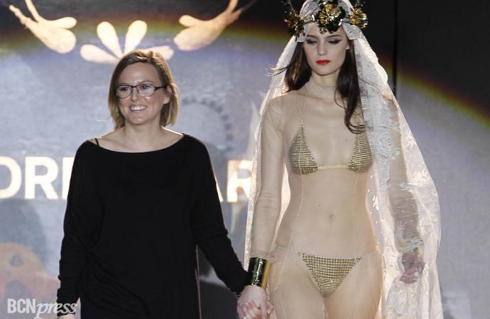 Cibeles Fashion Week Otoño-Invierno 2011-2012 en Madrid. Desfile de Andrés Sardá.
