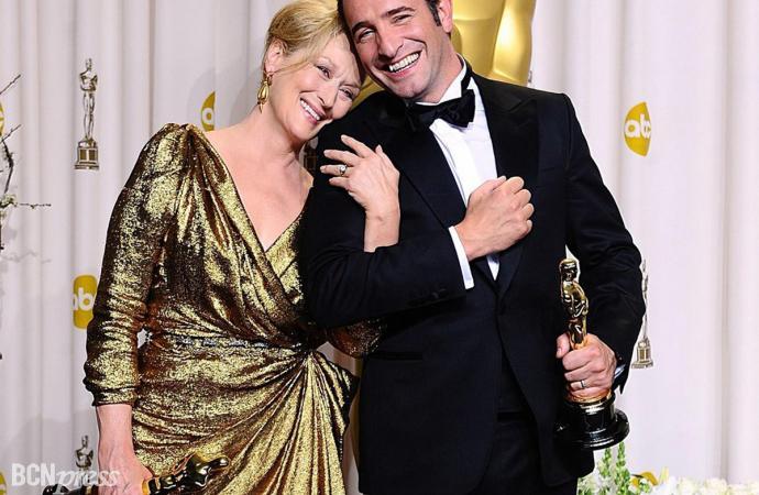 Una película casi muda, en blanco y negro y francesa, ganó el óscar de Hollywood