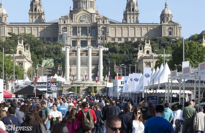 37 ediciones del Salón Internacional del Automóvil en Barcelona