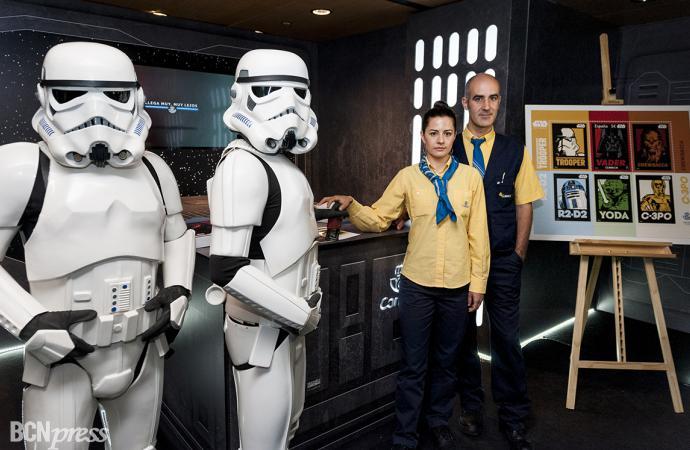 Correos presenta un sello conmemorativo de Star Wars en el 40 aniversario de la saga