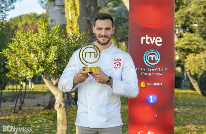 Saúl Craviotto gana 'MasterChef Celebrity'2