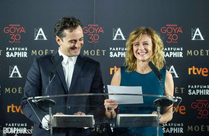 Lectura de los Nominados a los Premios Goya