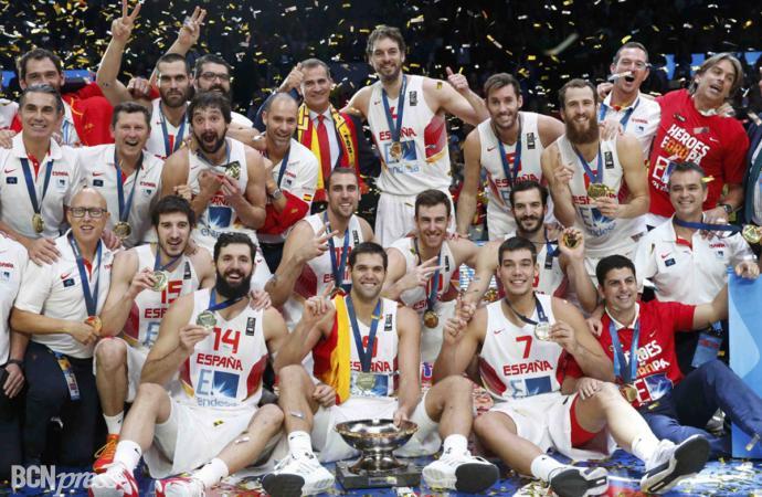 España venció en el Eurobasket 2015