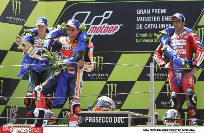 Los hermanos Márquez ganan el Gran Premi Monster Energy de Catalunya