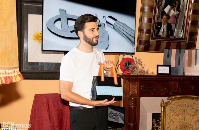 Víctor Caballero, bolsos personalizables inspirados en la vida animal