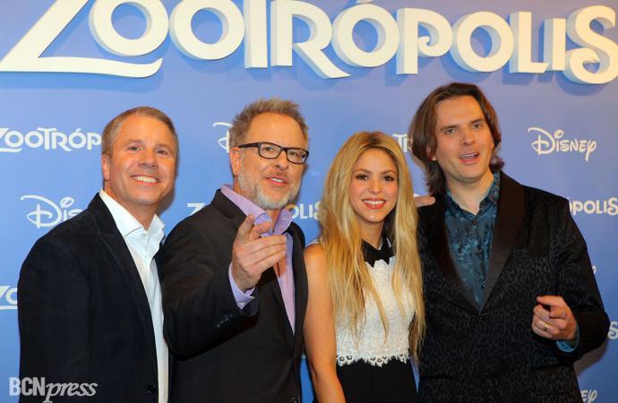 Premiere de la película Zootrópolis, en Barcelona