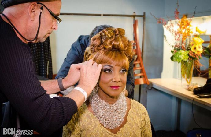 Lucrecia se convierte en Celia Cruz en Miami