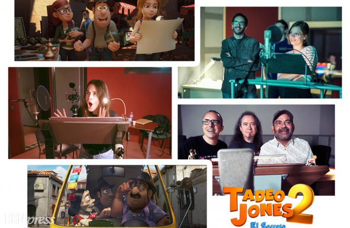 Doblaje español en la película Tadeo Jones