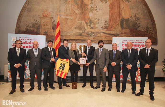 Partido entre Catalunya-Túnez