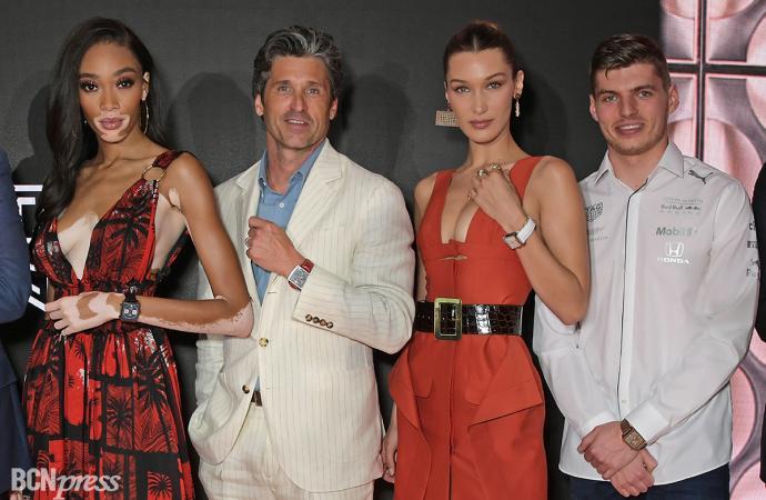 Tag Heuer presenta en Mónaco el primero de los cinco relojes creados para celebrar el 50 aniversario del icónico modelo Monaco