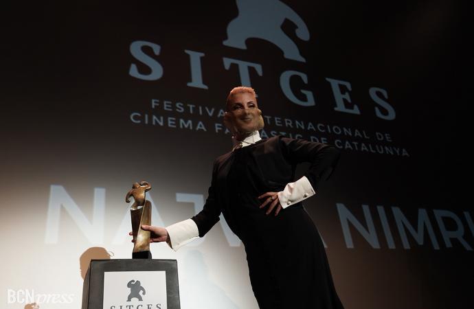Estreno mundial de 'La vampira de Barcelona' y entrega Gran Premi Honorífic a Najwa Nimri