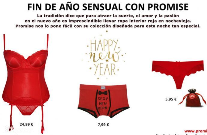 Fin de año sensual con Promise