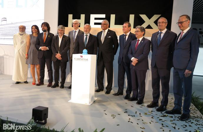 Carnival Corporation inaugura el Helix cruise center en el Port de Barcelona