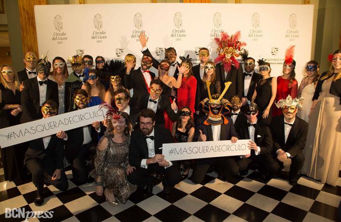 El Círculo del Liceo celebra su IV Gran Baile de Máscaras