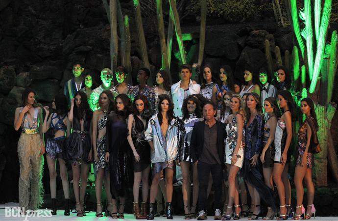 Los colores de Custo Barcelona iluminaron la Lanzarote Fashion Weekend