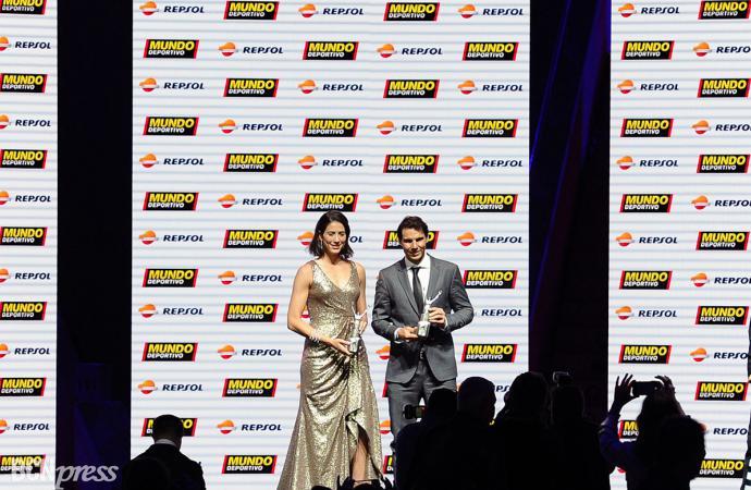 El tenis campeón absoluto en la Gran Gala del Mundo Deportivo