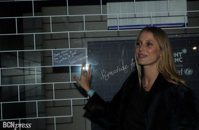 Montblanc y Vanesa Lorenzo unidos por una causa benéfica