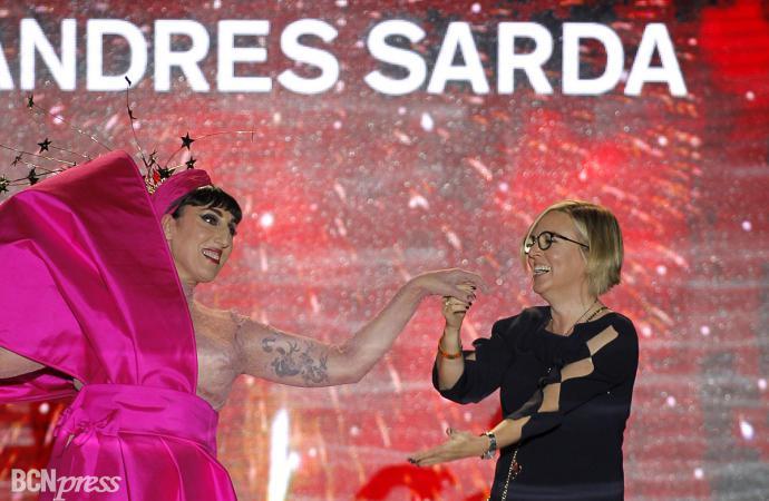Andres Sarda desfila en MBFWM