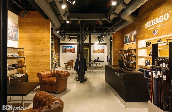 Nueva Flagship Store de Sebago