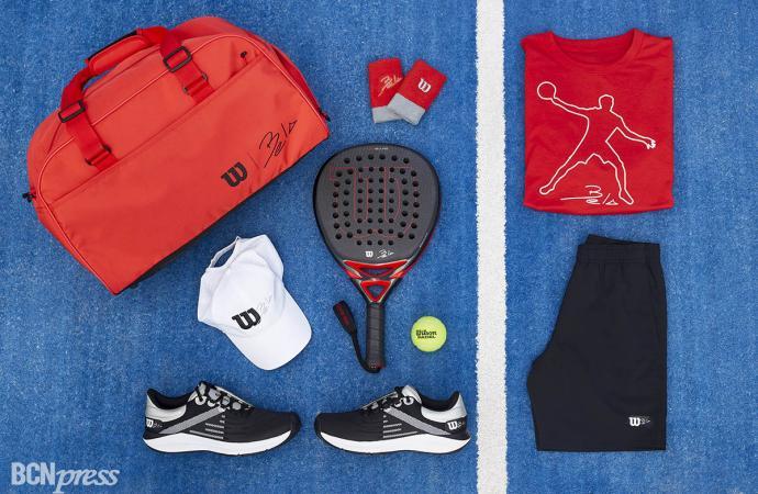 Colección de pádel 'Bela' de Wilson Sporting Goods