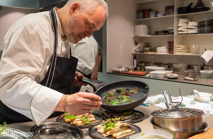 El chef barcelonés Xavier Pellicer emprende su proyecto más personal
