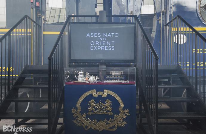 """Exposición de vestuario de la película """"Asesinato en el Orient Express"""""""