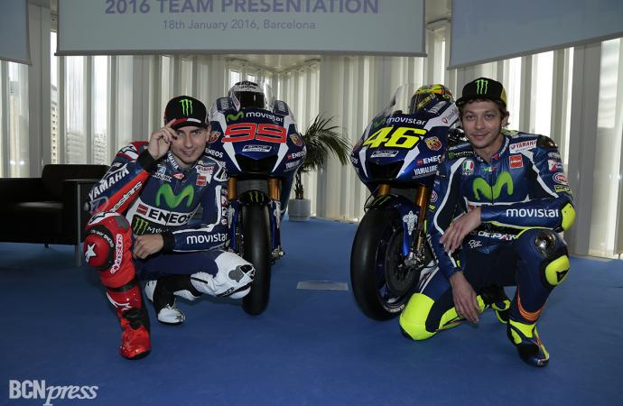 Presentación del Equipo Movistar Yamaha de MotoGP