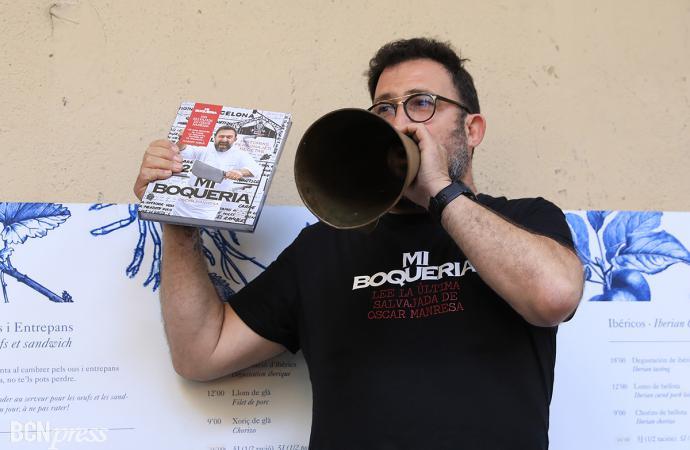 El chef Oscar Manresa saca un libro sobre 'Mi Boquería'
