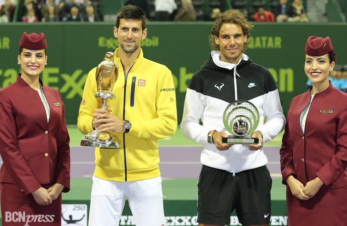 Doha, Nadal finalista