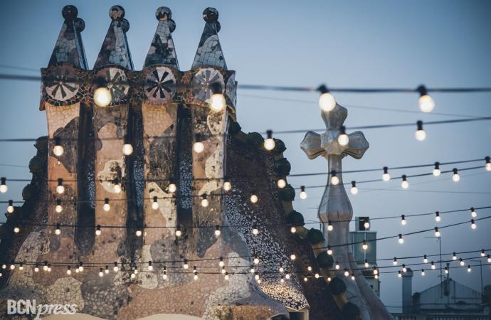 Noches mágicas de Casa Batlló en 'El Terrat del Drac'