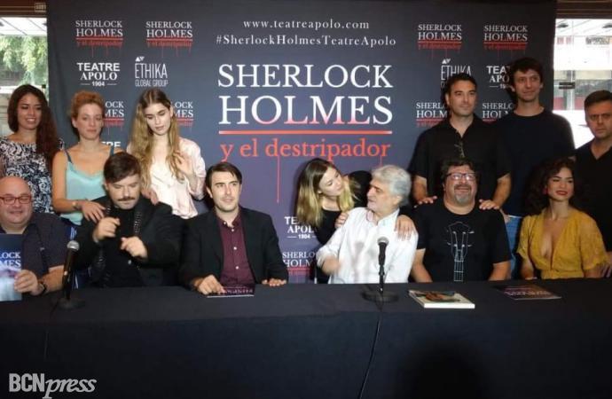 Sherlock Holmes y el destripador basada en los personajes de Sir Arhur Conan Doyle en el Apolo