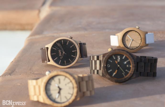 MAM Originals presenta su primera línea de relojes de madera diseñados en Barcelona