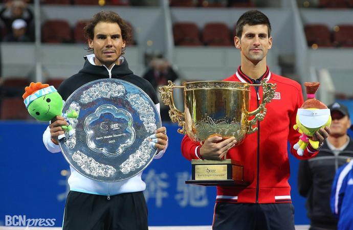 Rafa Nadal pierde la final del Torneo de Pekín ante Djokovic