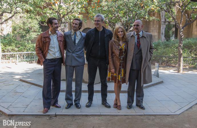 Rodaje en Barcelona de la serie 'El día de mañana'