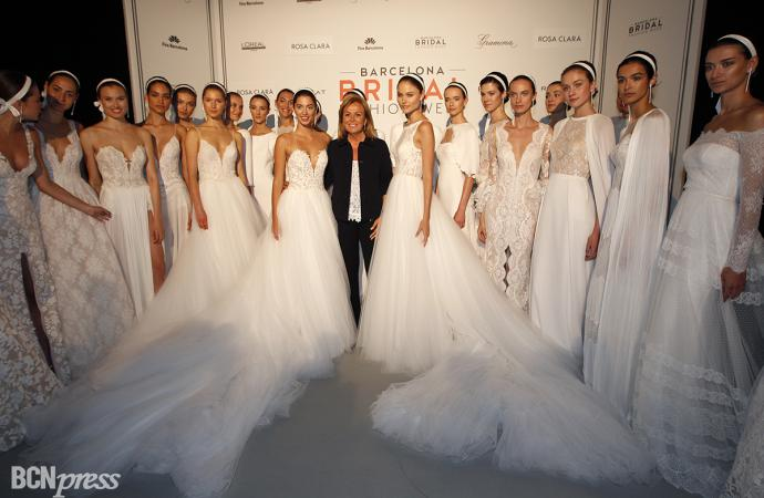 Desfile Rosa Clará en la Barcelona Bridal Fashion Week