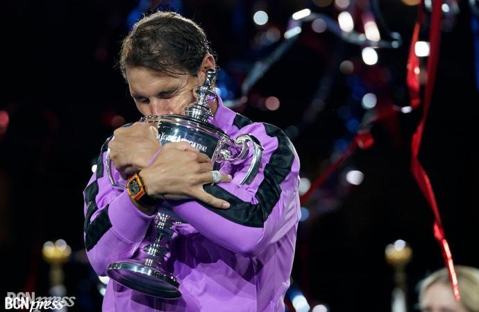 """Rafa Nadal: """"Muy feliz, este torneo lo significa toda para mí"""""""