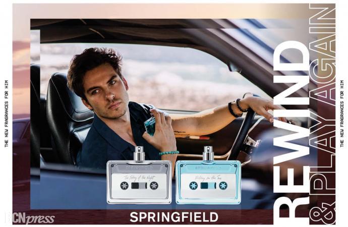 Las nuevas fragancias de Springfield Rewind & Play Again