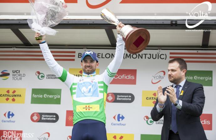 Alejandro Valverde tricampeón de la Volta a Catalunya